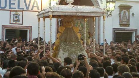 La Virgen del Rocio en la Hermandad de Huelva 2012   YouTube