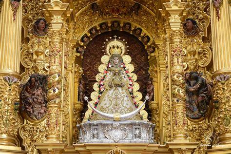 La Virgen del Rocío luce para la Candelaria   Rocio.com