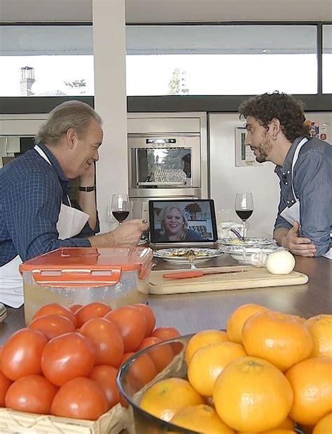 La visita de Paco León a Bertín Osborne | Mujerhoy.com