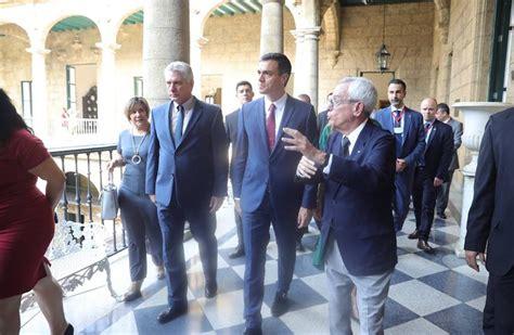 La visita de Pedro Sánchez a La Habana, en imágenes