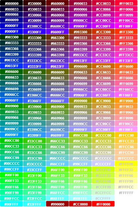 La web de todos los colores   Coloress.org
