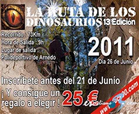 La XIII Ruta de los Dinosaurios, el 26 de junio en Arnedo ...
