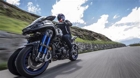 La Yamaha Niken se deja ver en La Vuelta a España 2019