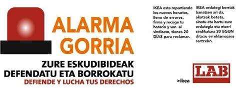 LAB denuncia que Ikea Barakaldo ha comenzado a comunicar ...