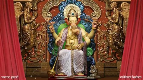 Lalbaug Cha Raja   2013  Motion Poster    YouTube