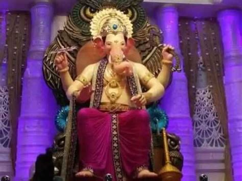 Lalbaugcha Raja 2016 LIVE Darshan of First Look   YouTube
