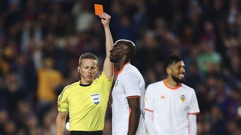 LaLiga, décima competición europea con más tarjetas rojas