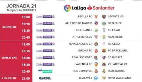LaLiga: Kick off times for Round 21 of LaLiga Santander ...