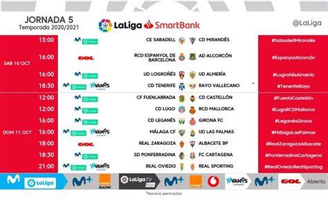 LaLiga modifica los horarios de la jornada 5 en la Liga ...