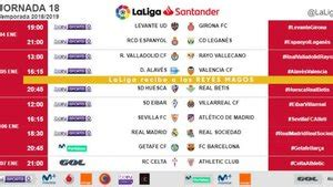 LaLiga reveal fixtures: Barça to play Getafe on Kings Day