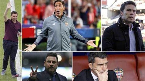 LaLiga Santander: Banquillos que buscan inquilino | Marca ...