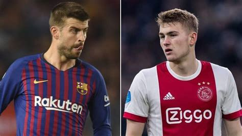 LaLiga Santander: De Ligt in pole position for a move to ...
