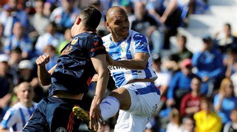 LaLiga Santander  J25 : Resumen y goles del CD Leganés 1 1 ...
