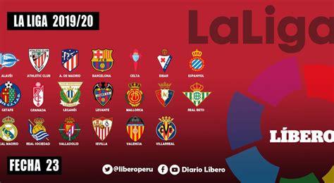 LaLiga Santander resultados fecha 23 EN VIVO tabla ...