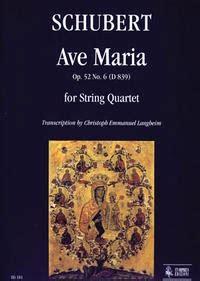 Lalus fecit   partituras coro y letras: Ave María   Schubert