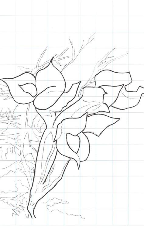 Laminas modelo para pintar flores | Plantillas para pintar ...