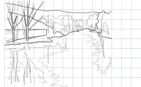Laminas modelo para pintar paisajes 2 | Plantillas para ...