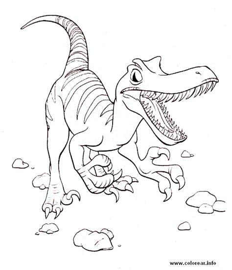 LAMINAS PARA COLOREAR   COLORING PAGES: Dinosaurios para ...