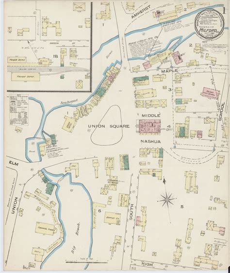 LAMINATED POSTER20x30 Sanborn Fire Insurance Map from ...