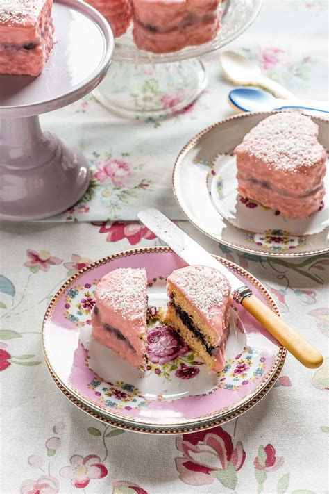 Lamingtons corazón para San Valentín | Recetas de comida ...