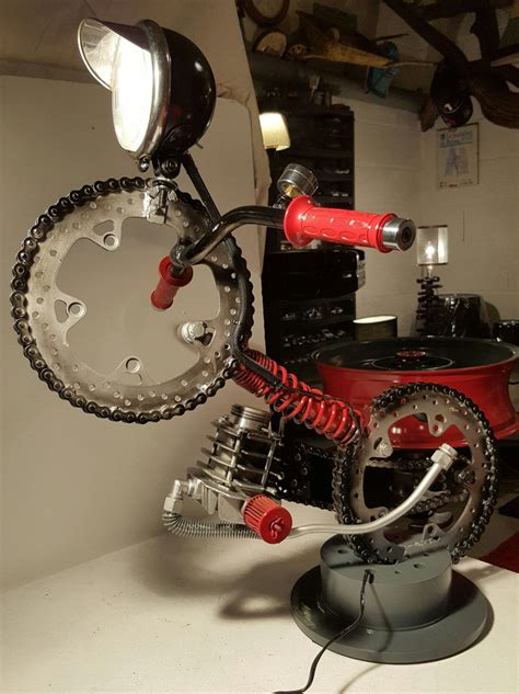 LAMPE MOTO CONCEPT#51 de la boutique MECADECODESIGN sur ...
