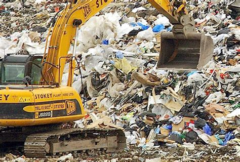 Landfill loving Britain officially the  dustbin  of Europe ...
