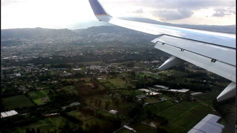 Landing at the New Mariscal Sucre International Airport ...