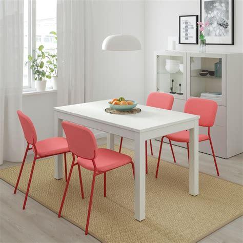 LANEBERG Mesa extensible, blanco   IKEA