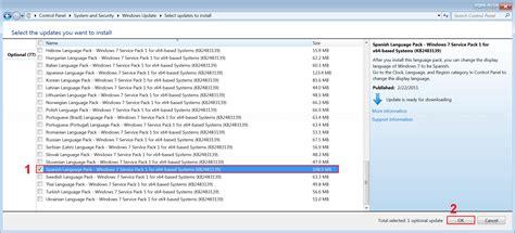 Language pack espaol spanish windows 7 home premium free ...