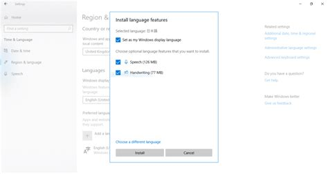 Language Packs for Windows 10