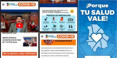 Lanza Gobierno del Estado app COVID 19 Chihuahua para ...