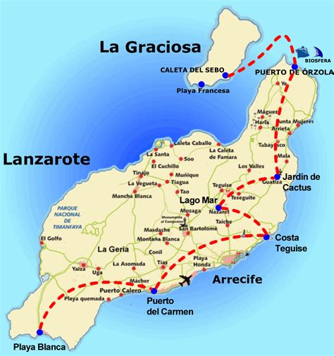 LANZAROTE – Pueblos de Gran Canaria