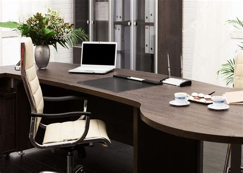 laptop flowers wood table office scene backdrops Vinyl ...