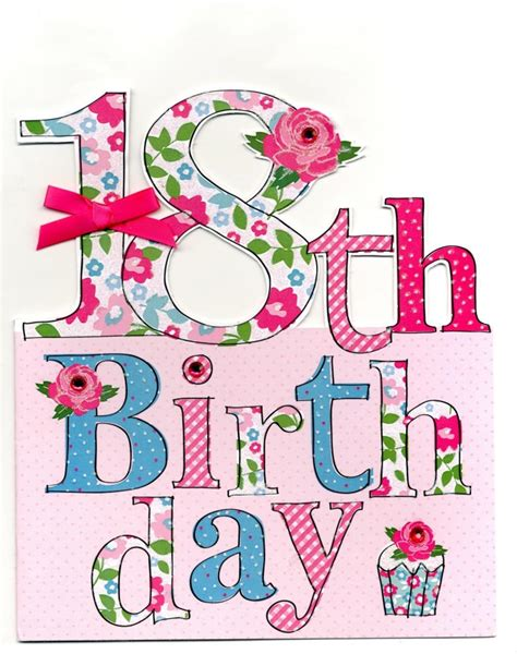 Large 18th Birthday Greeting Card | Cards | Love Kates