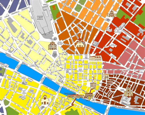 Large Florence Maps for Free Download and Print | High ...
