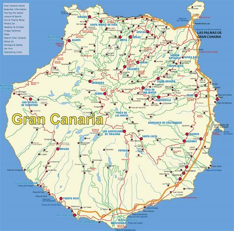 Large Gran Canaria Maps for Free Download and Print | High ...