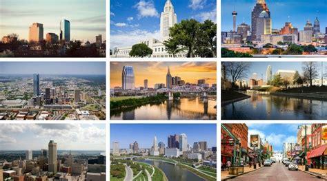 Las 10 ciudades más económicas en Estados Unidos