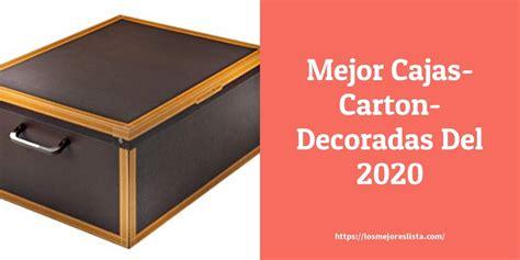 Las 10 mejores Cajas Carton Decoradas en 2020 ...