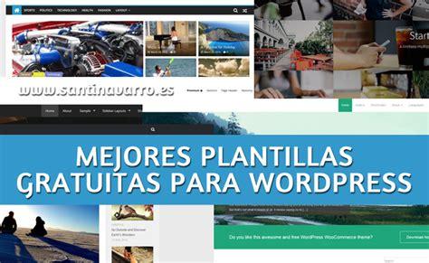 Las 10 Mejores Plantillas para Wordpress Gratis Responsive ...