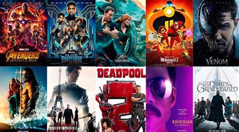 Las 10 películas más taquilleras de 2018   Blogs Expansión.com