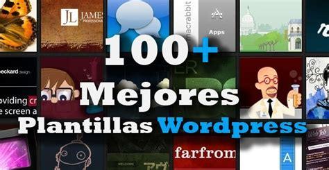 Las 100+ mejores plantillas wordpress para tu proyecto