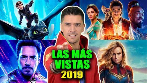 LAS 12 PELICULAS MAS VISTAS 2019 | TAQUILLA | WOW QUE PASA ...