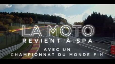 Las 24 horas de Spa Motos, nueva prueba del Mundial de ...