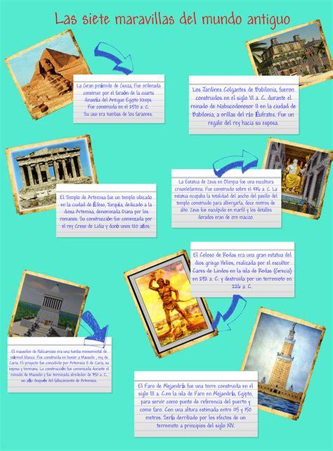 las 7 maravillas del mundo antiguo: text, images, music ...