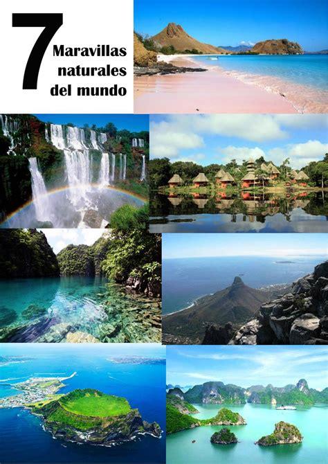 Las 7 maravillas naturales del mundo by Maria Montesdeoca ...