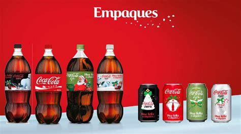 Las botellas y latas de Coca Cola se rediseñan en Navidad ...