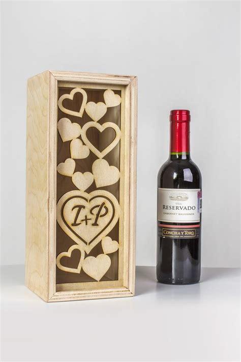 Las cajas de madera para vino son un detalle creativo ...