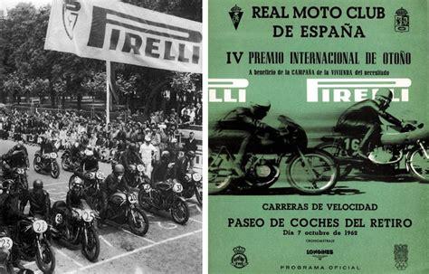 Las carreras de motos en el Retiro | Club del Motorista KMCero