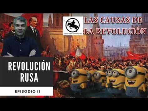 Las causas de la Revolución Rusa   YouTube