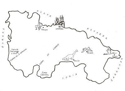 Las Chicas del Tenderete: Mapas de La Rioja